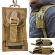 Chinatera Mens Molle Outdoor Hunt Multifunctional Accessories Bag Sundries Bags Key Cell Phone Waist Bag Pouch Case