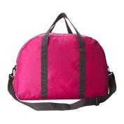 Women Tote Bag - TOOGOO(R)Unisex Women Duffle Gym Travel Luggage Suitcase Sports Tote Bag Weekend Handbag Rose red