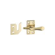 National Hardware V1978 Casement Fastener, Solid Brass