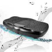 AMDirect Fitness Vibration Plate Machine Mini Power Vibro Plate Shaper