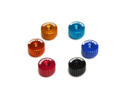 Exotek Racing Exo1191Red Twist Nuts For M3 Thread, Red Hardware & Fasteners