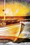 Working Fishing Boat Painting