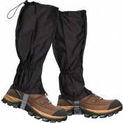 Lictin 1 Pair Hiking Gaiters Leg Gaiters Snow Gaiters Mountain Snow Legging Gaiters Lightweight Hiking Gaiters Waterproof Windproof Durable Gaiters Outdoor Walking Climbing Legging Gaiter