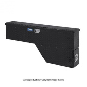 UWS FW-48-DS-P-BLK Black 120cm Driver Side Fenderwell Box with Drawer Slide