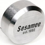 Sesamee 930 Round Padlock, 1cm Dia, Hardened Solid Steel