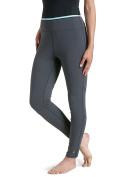 Coolibar Women's Upf 50 Plus Active Swim Tights-Graphite, Size 46/2X-Large