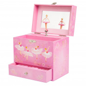Ballerina Music Box for Girls - Dancing Musical Jewellery Box