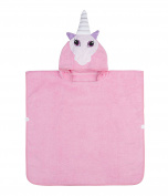 Softest Quick Dry Hooded Kids Unicorn Towel for Toddler - 5T | 100% Cotton Gently Snuggles Kids Dry. Get the Baby Shower Gift Moms Love by Hudz Kidz