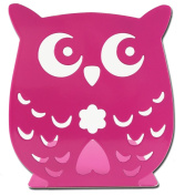 Owl Wonderland Bookends - Cute Lightweight Baby Owls - Great Decor for Little Ones Nursery, Childrens Bedroom, Kids Playroom or Fun Owllover Gift for Office