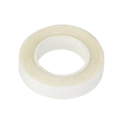 Double Sided Tape For PU Hair Extension Wig Adhesive Waterproof Clear - 1cmx3m, White