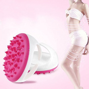 Denshine Soft Bath Shower Body Anti Cellulite Massager Brush Glove Beauty