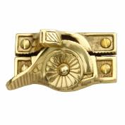 Ornate Window Sash Lock Bright Solid Brass | Renovator's Supply