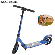 Adult Folding Kick Scooter Lightweight Height Adjustable Teenagers Scooter - Smooth & Fast Ride [UK STOCK]