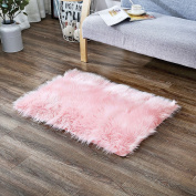 OJIA Deluxe Soft Modern Faux Sheepskin Shaggy Area Rugs Children Play Carpet For Living & Bedroom Sofa