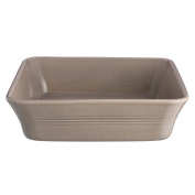 Mason Cash Classic Kitchen Ceramic Square Baker; Fine Quality Stoneware Is Durable and Easy To Clean; 26cm by 26cm by 7cm ; Putty