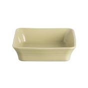Mason Cash Classic Kitchen Stoneware Square Dish, 26cm by 26cm by 7cm , Green