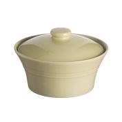Mason Cash Classic Kitchen Stoneware Casserole Dish, 85-Fluid Ounces, Green