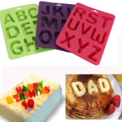 Vibola 3pcs/1set Mould 26 English Letters Number Silicone Mould Alphabet Fondant Cake Decorating Tools Chocolate Cupcake Mould Kitchen Accessories