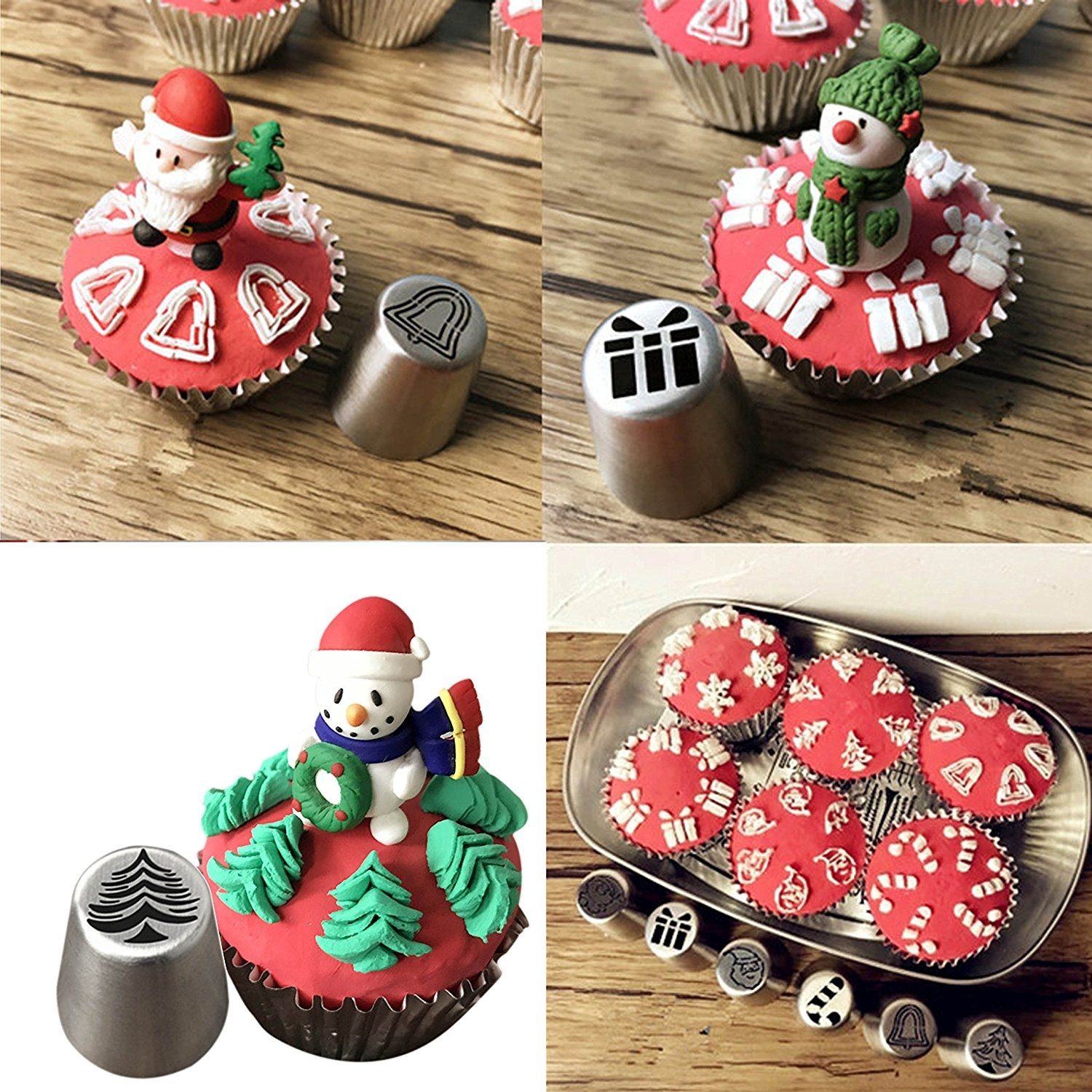 Image result for Christmas Pastry Cake Nozzles