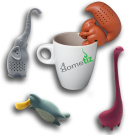 Silicone Tea Infuser Set Of 4 By Hometiz