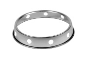 """Town Food Equipment (34710) - 25cm """" Plated Steel Wok Ring"""