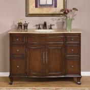 Silkroad Exclusive Ostia 120cm Single Bathroom Vanity Set