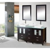 Kokols 9138 Caius 150cm . Double Sink Bathroom Vanity