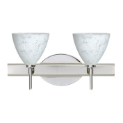 Besa Lighting Mia 2 Light Bath Vanity Light
