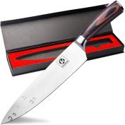Kacebela Chef Knife, Chef's Knife 20cm , Kitchen knife High Carbon, Stainless Steel Knives for chef