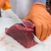 UltraSource Breaking Butcher Knife, 20cm Fluted Blade