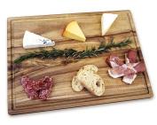 Misc Home Gourmet 36cm x 25cm Acacia Cutting Board w/ Juice Drip Groove