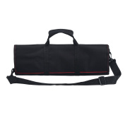 Tosnail Chef Knife Case Roll Bag with 21 Slots & 1 Large Zipper Pocket - Easily Carried by Handle or Shoulder Strap