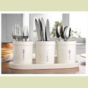 4PC Utensil Cutlery Caddy Holder Crocks