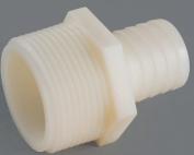 Anderson 53748-0612 Hose Adapter, 1cm , Barb X MGH, Nylon