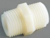 Anderson 53622-16 Hex Pipe Nipple, 2.5cm , MPT, Nylon