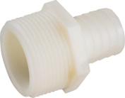 Anderson 53701-0502 Hose Adapter, 0.3cm X 0.8cm , MIP X Barb, Nylon