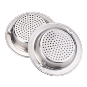 'weimay Filter Stainless Steel Kitchen Sink 2pcs with Mango Trim, 3/7.8 cm Diameter