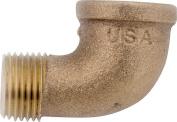 Anderson 738116-06 Street Pipe Elbow, 90 deg, 1cm , FIP X MIP, 200 psi, Brass
