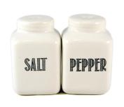 Mason Jar Style Salt & Pepper Shaker Set