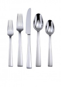 Oneida Madison Avenue 45 Piece Casual Flatware Set, 18/0 Stainless, Service for 8
