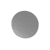 Round Silver Mono Board, 13cm - Pack of 25