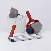 Jeteven 6pcs Paint Runner Roller Kit, Pro Paint Brush Handle Flocked Edger, Multifunction Room Wall Painting Runner