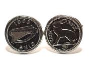 1968 50th Birthday Irish Threepence coin cufflinks - Great gift idea 1968 3d