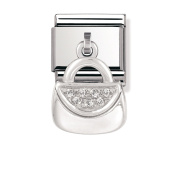 Nomination Composable Women's Bead Classic Charms 925 Silver Bag