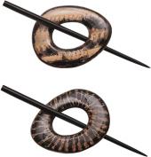 Paradise Reversible Shawl Pin