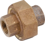 UNION BRASS PIPE FPT 1-1/2