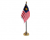 Malaysia Hand Table or Waving Flag Country Malaysian - No Base