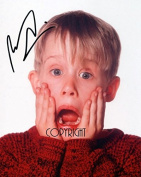 LIMITED EDITION MACAULAY CULKIN HOME ALONE SIGNED PHOTOGRAPH + CERT PRINTED AUTOGRAPH