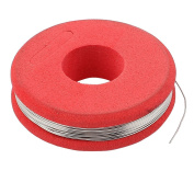 sourcingmap® 7.5m 24.6ft Constantan 27 AWG 0.35mm 2.44ohm/m Heater Wire