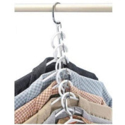 ODN Clothes Closet Hangers Stainless Steel Portable Magic Clothing Organiser Space Saver